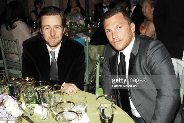 Edward Norton and Sean Avery attend NEW YORK CITY BALLET 2009 Spring Gala  Dinner Party at. Patrick McMullan Archives. People  Brendan Shanahan a8533d8dfaf