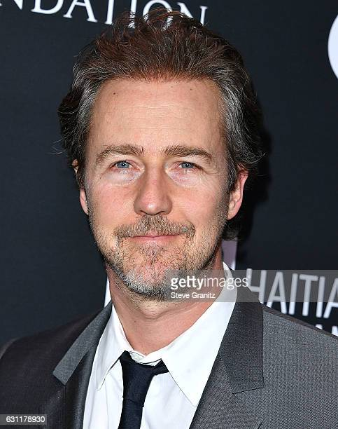 Edward Norton arrives at the 6th Annual Sean Penn Friends HAITI RISING Gala Benefiting J/P Haitian Relief Organization at Montage Beverly Hills on...