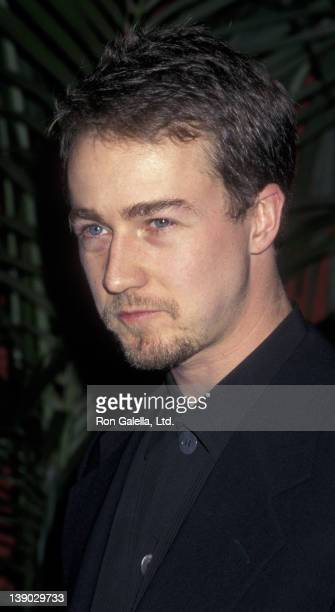Edward Norton attends 16th Annual Academy Awards Nominees Luncheon on March 11 1997 at the Beverly Hilton Hotel in Beverly Hills California