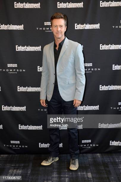Edward Norton attends Entertainment Weekly's Must List Party at the Toronto International Film Festival 2019 at the Thompson Hotel on September 07,...