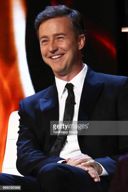 Edward Norton attends the Comedy Central Roast Of Bruce Willis on July 14 2018 in Los Angeles California