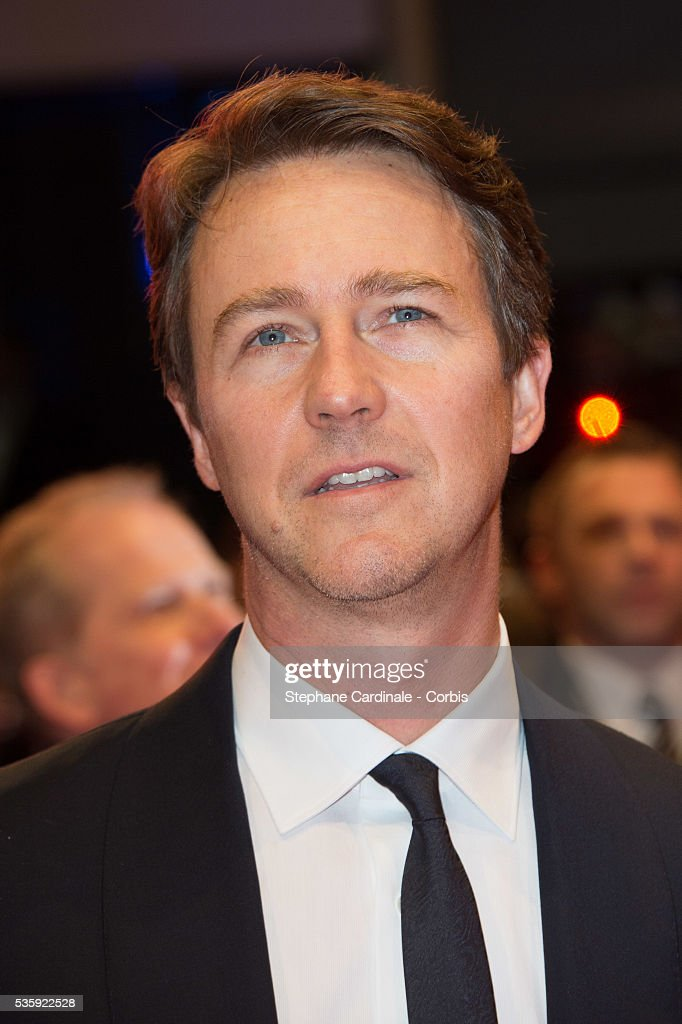 Edward Norton attends 'The Grand Budapest Hotel' Premiere and opening ceremony during the 64th Berlinale International Film Festival, in Berlin, Germany.