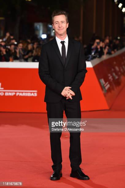 Edward Norton attends the Motherless Brooklyn screening during the 14th Rome Film Festival on October 17 2019 in Rome Italy
