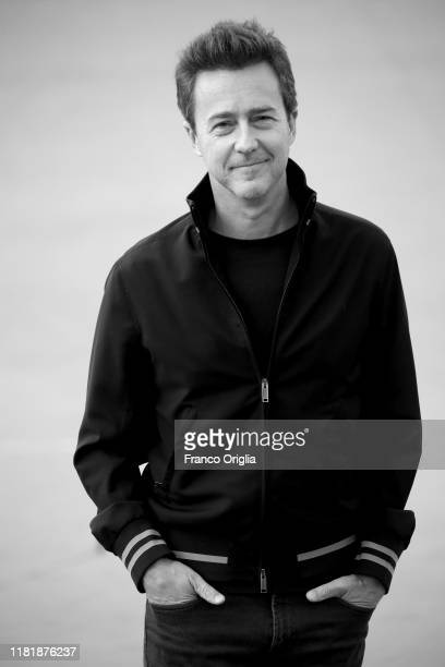 Edward Norton attends the red carpet during the 14th Rome Film Festival on October 18 2019 in Rome Italy