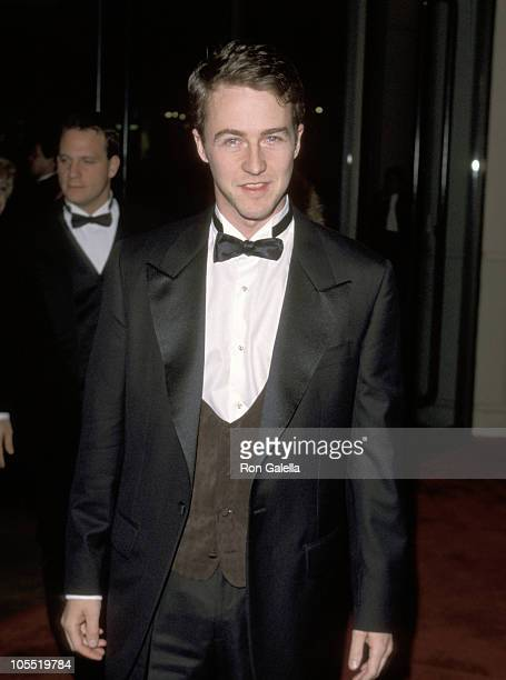 Edward Norton during AFI Lifetime Achievement Award Salute to Dustin Hoffman February 18 1999 at Beverly Hilton Hotel in Beverly Hills California...