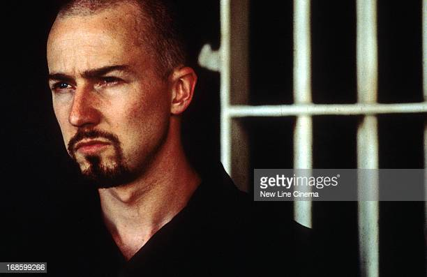 Edward Norton in a scene from the film 'American History X' 1998
