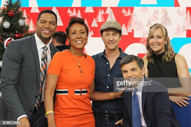 AMERICA Edward Norton is a guest on 'Good Morning America' Thursday December 8 airing on the ABC Television Network MICHAEL