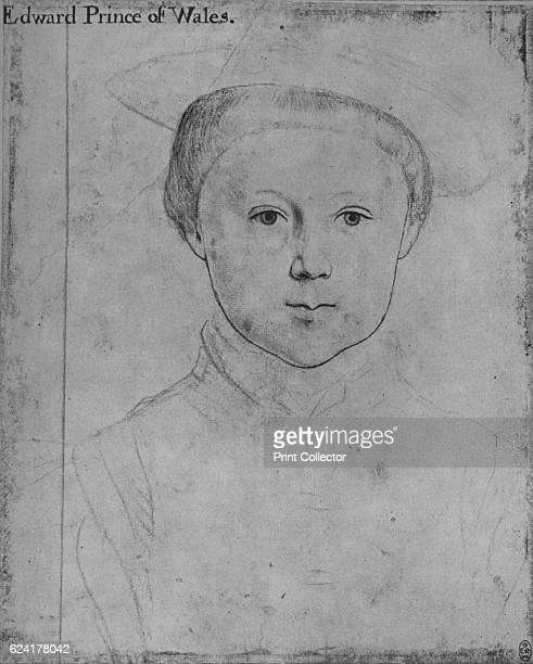 Edward Prince of Wales' c15401543 Edward VI was King of England and Ireland from 28 January 1547 until his death The drawing is part of the Royal...