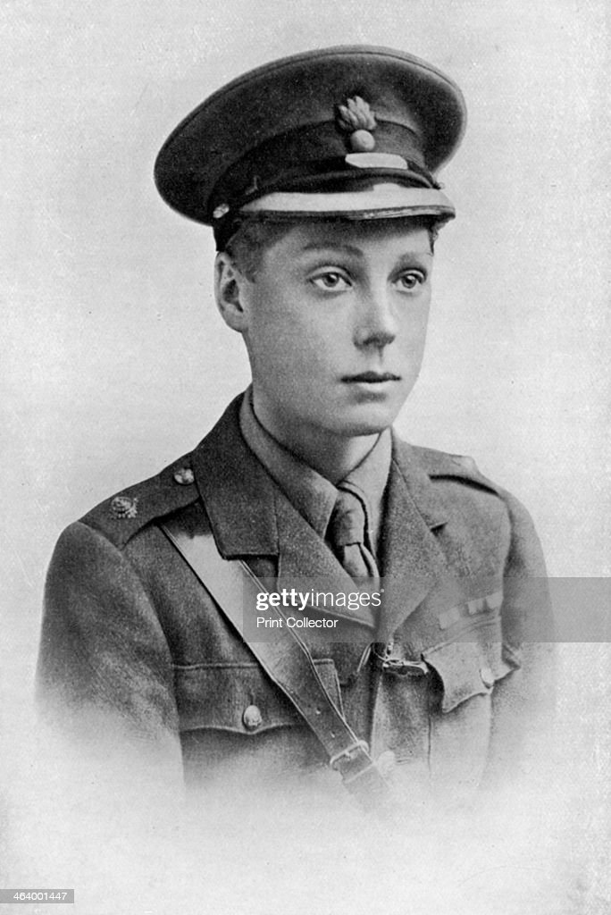 Edward, Prince of Wales, First World War, 1914-1918, (c1920). : News Photo