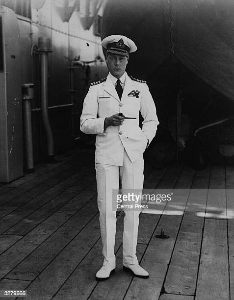 Edward Prince of Wales on board HMS Renown during his Australian tour