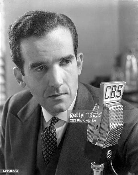 Edward R Murrow of CBS News Image dated January 9 1939