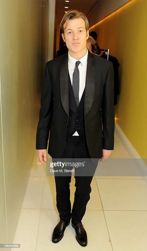 Edward Speleers attends the English National Ballet Christmas Party at St Martins Lane Hotel on December 13, 2012 in London, England.