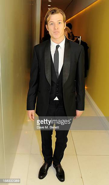Edward Speleers attends the English National Ballet Christmas Party at St Martins Lane Hotel on December 13 2012 in London England