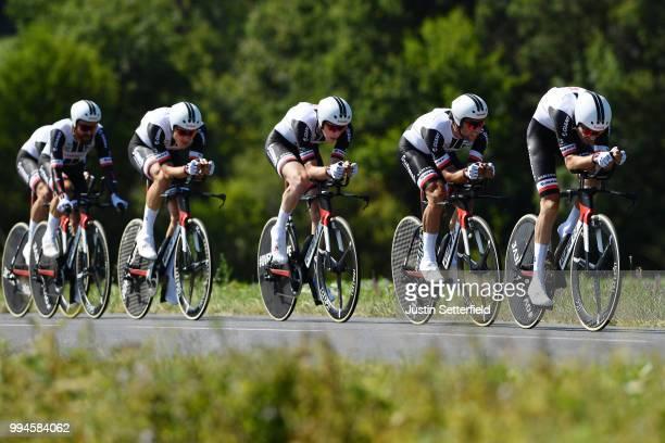 Edward Theuns of Belgium / Michael Matthews of Australia / Chad Haga of The United States / Nikias Arndt of Germany / Simon Geschke of Germany / Team...