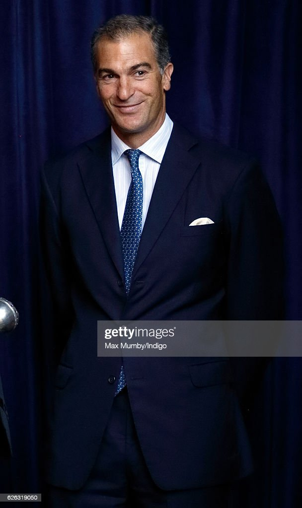 Edward van Cutsem attends a Memorial Service for Gerald Grosvenor, 6th Duke of Westminster at Chester Cathedral on November 28, 2016 in Chester, England. Gerald Cavendish Grosvenor, 6th Duke of Westminster died aged 64 on August 9, 2016 and is survived by his wife, The Duchess of Westminster, Natalia Grosvenor, daughters Lady Tamara van Cutsem, Lady Edwina Snow and Lady Viola Grosvenor and his 25-year-old son and heir Hugh Grosvenor, 7th Duke of Westminster.