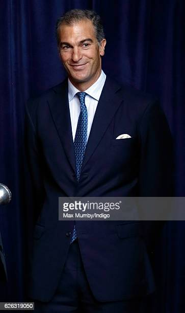 Edward van Cutsem attends a Memorial Service for Gerald Grosvenor, 6th Duke of Westminster at Chester Cathedral on November 28, 2016 in Chester,...