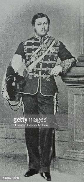 Edward VII Albert Edward King of the United Kingdom and Emperor of India from 22 January 1901 until his death Pictured as a Colonel in the 10th...