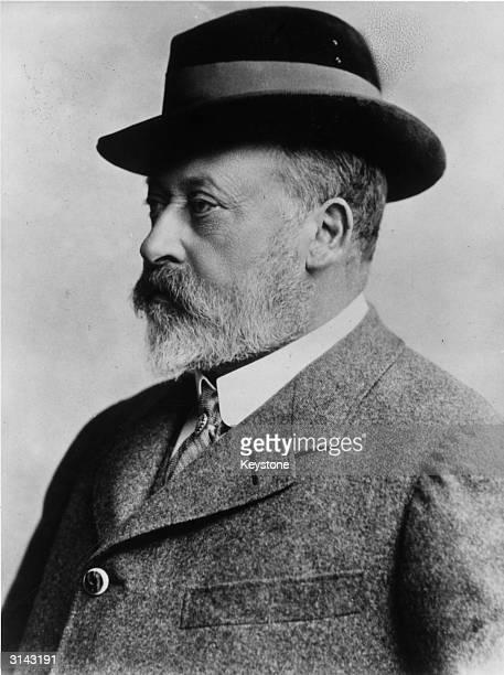 Edward VII of England Reign 190110 eldest son of Queen Victoria married Alexandra Princess of Denmark 1863