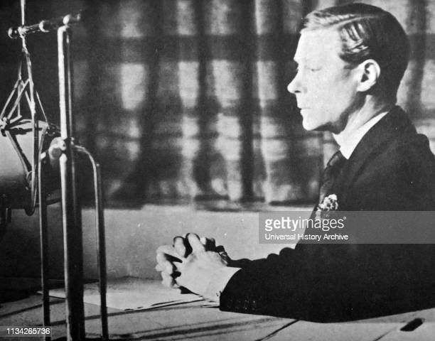 Edward VIII King of the United Kingdom and the Dominions of the British Empire and Emperor of India from 20 January 1936 until his abdication on 11...