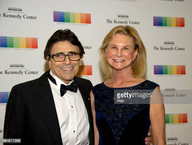 Edward Villella and his wife Linda arrive for the formal Artist's Dinner honoring the recipients of the 40th Annual Kennedy Center Honors hosted by...