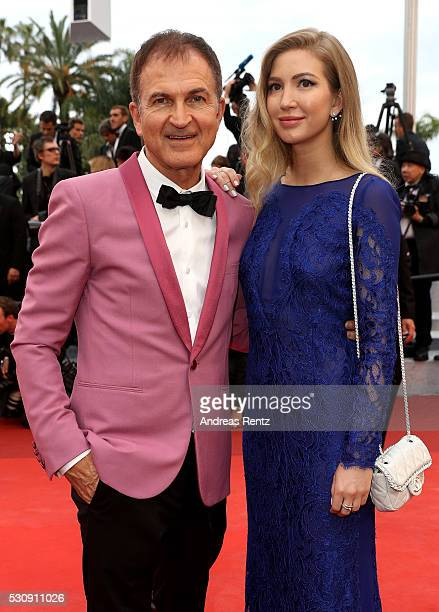 Edward Walson and Anastasia Fetisova attend the 'Cafe Society' premiere and the Opening Night Gala during the 69th annual Cannes Film Festival at the...