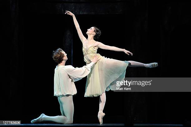 Edward Watson and Lauren Cuthbertson of the Royal Ballet perform Romeo and Juliet at O2 Arena on June 16 2011 in London England