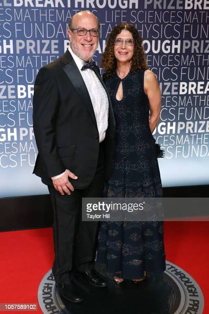 Edward Zuckerberg and Karen Kempner attend the 7th Annual Breakthrough Prize Ceremony at NASA Ames Research Center on November 4 2018 in Mountain...