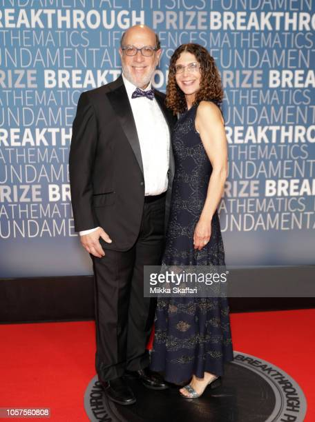 Edward Zuckerberg and Karen Zuckerberg attend the 2019 Breakthrough Prize at NASA Ames Research Center on November 4 2018 in Mountain View California