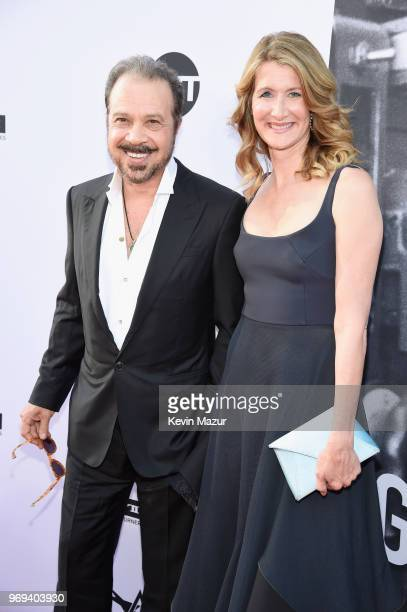 Edward Zwick and Laura Dern attend the American Film Institute's 46th Life Achievement Award Gala Tribute to George Clooney at Dolby Theatre on June...