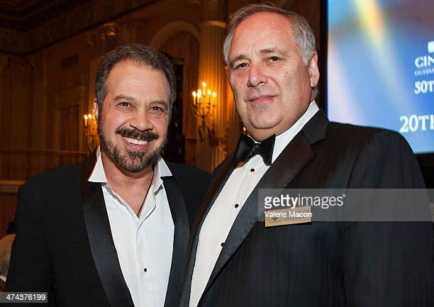 Edward Zwick and Michael Minkler attend the 50th Annual CAS Awards From The Cinema Audio Society at Millennium Biltmore Hotel on February 22 2014 in...