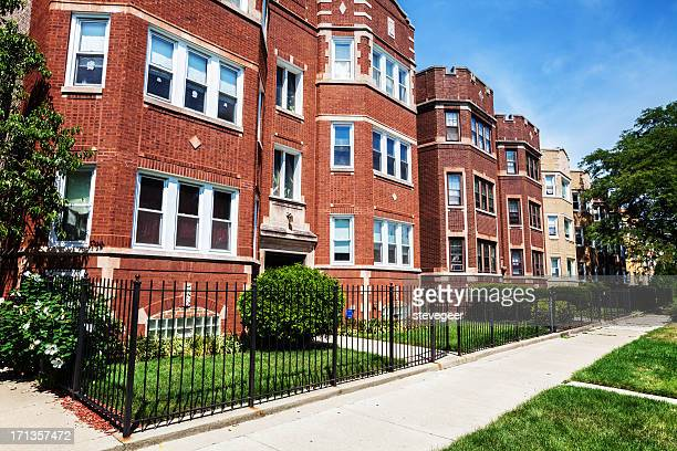 Edwardian flats in Washington Heights, Chicago