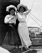 Edwardian Girls Old Photograph