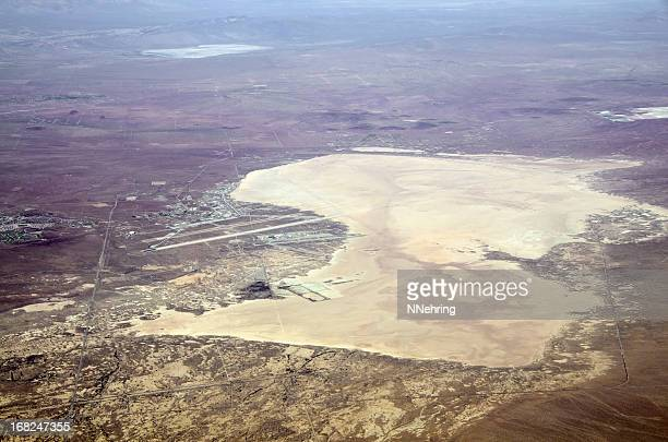 Edwards Air Force Base, California aerial view