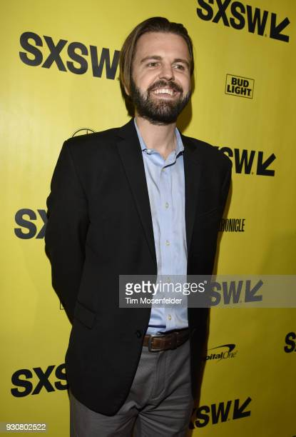 J Edwards attends the premiere of Friday's Child at the Paramount Theatre on March 11 2018 in Austin Texas