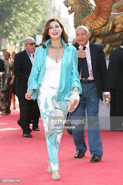 Edwige Fenech actress/producer during 2005 Venice Film Festival Fragile Premiere at Palazzo del Cinema in Venice Lido Italy