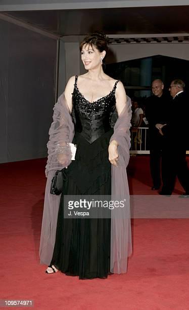 Edwige Fenech during 2004 Venice Film Festival The Merchant Of Venice Premiere at Palazzo Del Cinema in Venice Lido Italy