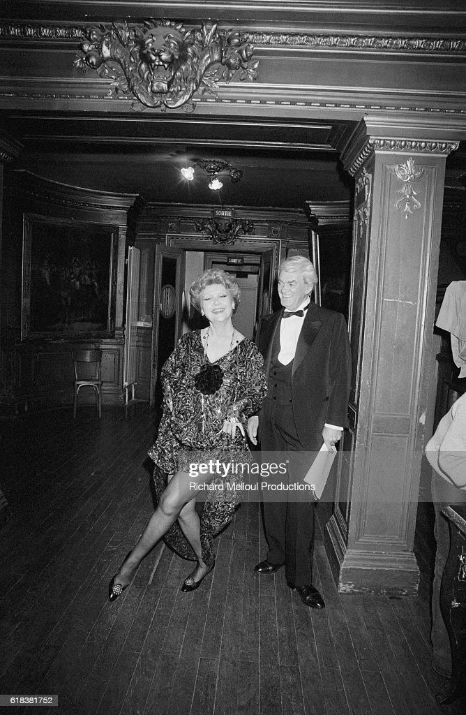 Actors Edwige Feuillere and Jean Marais : Photo d'actualité