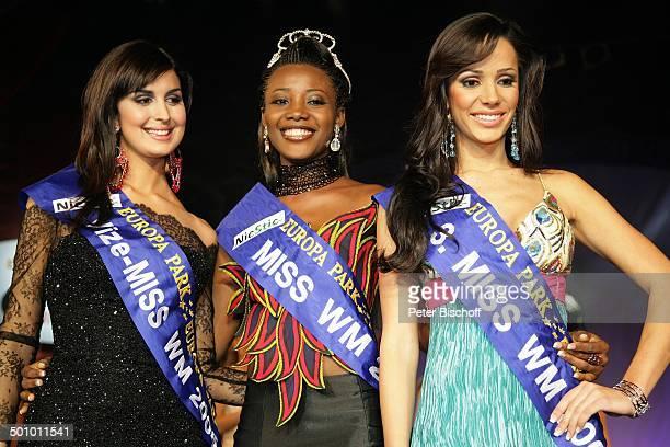 """Edwige Madze Badakou , Maria Garrido Baez , Katty Lopez Saman , Finale der Wahl zur """"Miss WM 2006"""", Rust , Deutschland, , P.-Nr. 781/2006, """"Europa..."""