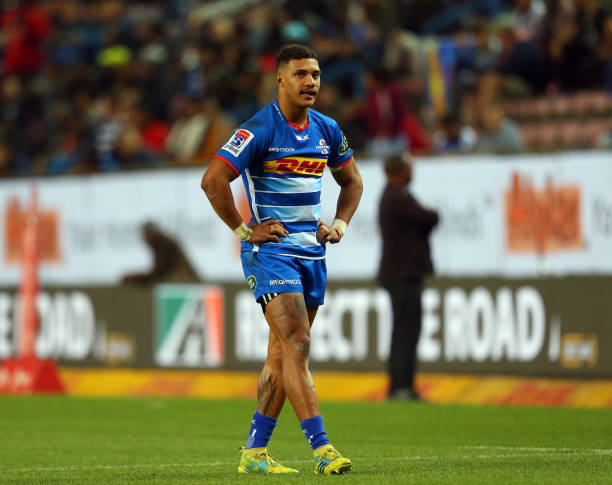 CAPE TOWN, SOUTH AFRICA - JUNE 08: Edwill van der Merwe of the Stormers during the Super Rugby match between DHL Stormers and Sunwolves at DHL Newlands on June 08, 2019 in Cape Town, South Africa. (Photo by Carl Fourie/Gallo Images/Getty Images)