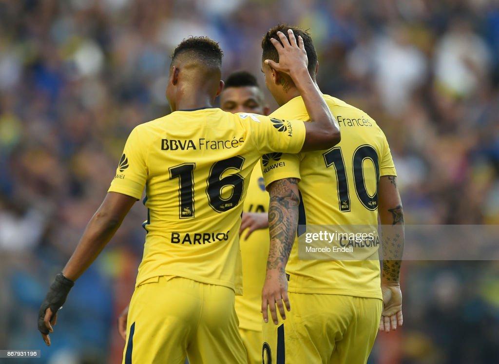 Boca Juniors v Belgrano - Superliga 2017/18