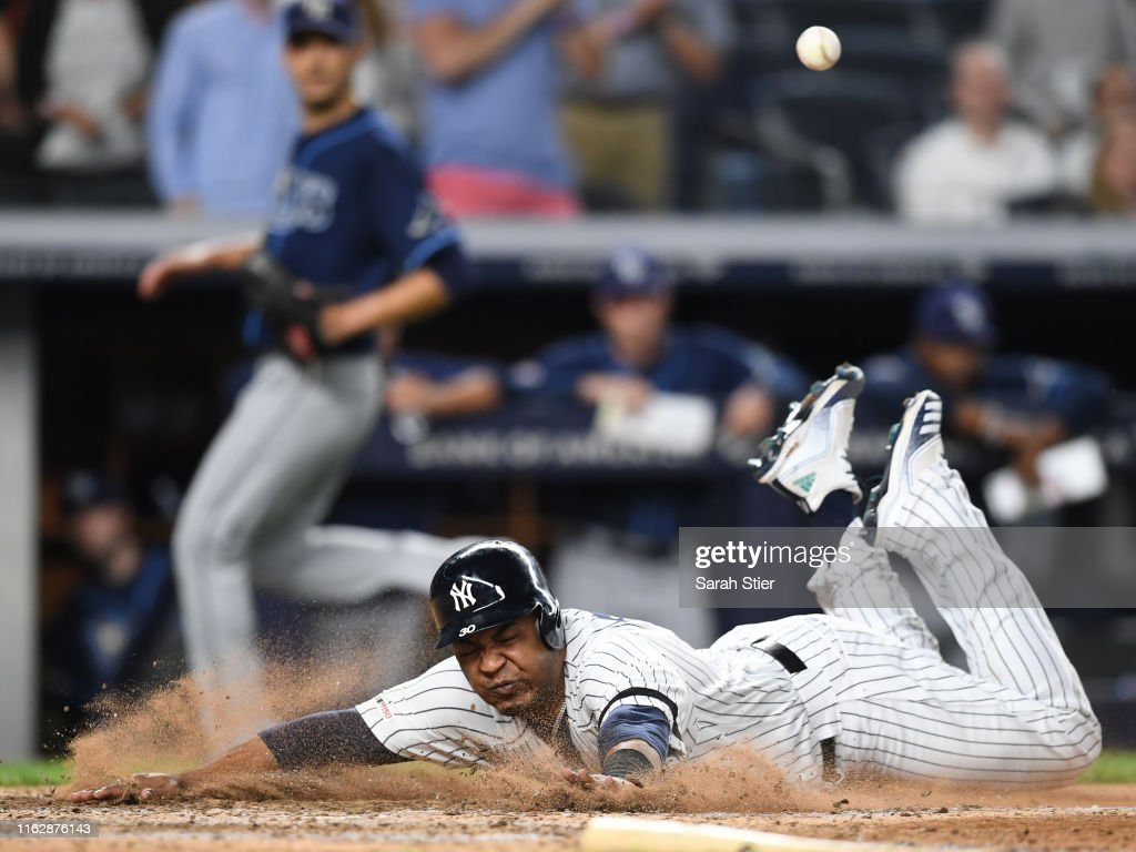 Tampa Bay Rays v New York Yankees - Game Two : News Photo