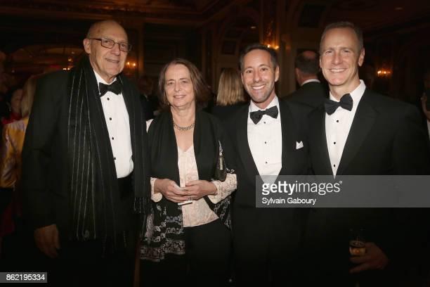 Edwin Goodman Bonnie Burnham Anthony Thompson and Erwin Shilling attend World Monuments Fund 2017 Hadrian Gala honoring Frank Stella and Deborah Lehr...