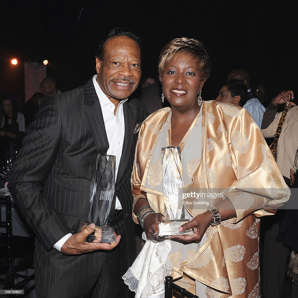 Edwin Hawkins and Lady Tremaine Hawkins attend the 14th annual BMI Trailblazers of Gospel Music Awards at Rocketown on January 18, 2013 in Nashville, Tennessee.