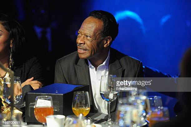Edwin Hawkins attends the 14th annual BMI Trailblazers of Gospel Music Awards at Rocketown on January 18 2013 in Nashville Tennessee