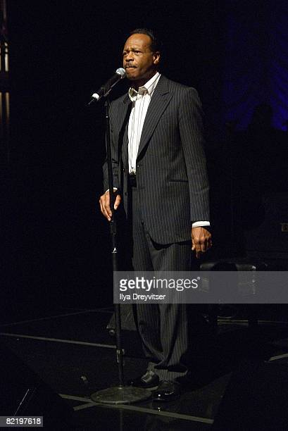 Edwin Hawkins performs for guests at GRAMMY Salute to Gospel Music at the Lincoln Theatre on June 18 2008 in Washington DC
