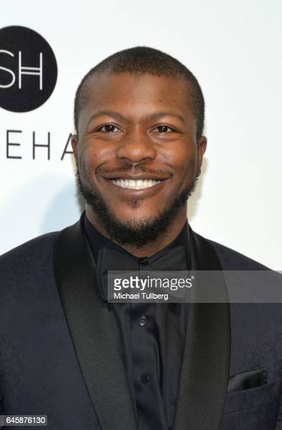 Edwin Hodge attends the 25th Annual Elton John AIDS Foundation's Academy Awards Viewing Party at The City of West Hollywood Park on February 26 2017...
