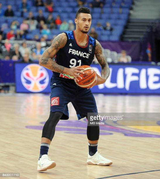 Edwin Jackson of France during the FIBA Eurobasket 2017 Group A match between Slovenia and France on September 6 2017 in Helsinki Finland