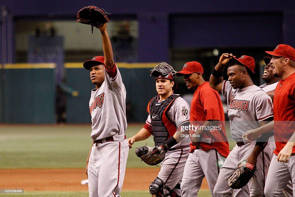 Arizona Diamondbacks v Tampa Bay Rays : News Photo