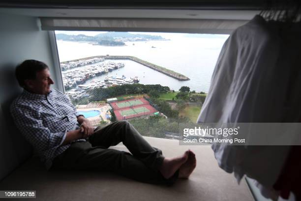Edwin Rainbow a Discovery Bay resident who has lived there for 17 years objects Hong Kong Resort's proposal to develop the waterfront of Peninsula...