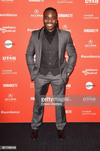 Edwin Raymond attends the 'Crime And Punishment' Premiere during the 2018 Sundance Film Festival at The Ray on January 19 2018 in Park City Utah